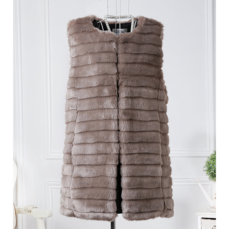 vest mink coat winter autumn high quality grass waistcoat fox fur coat 2016 new arrival(China (Mainland))