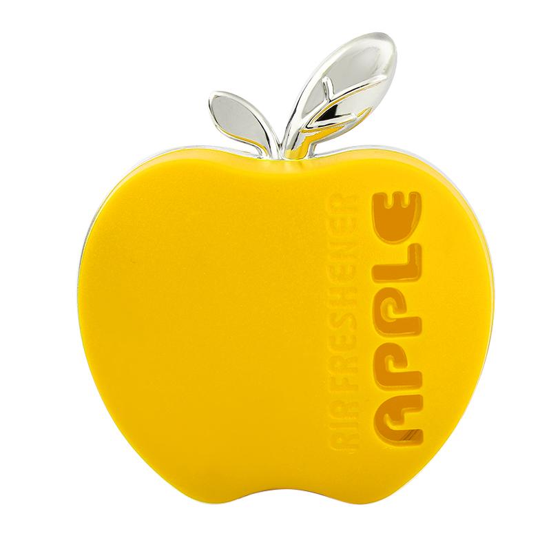 Apple Shape Air Freshener Original Fragrance Car Perfume Orange Lemon Apple Strawberry Lavender #iCarmo(China (Mainland))