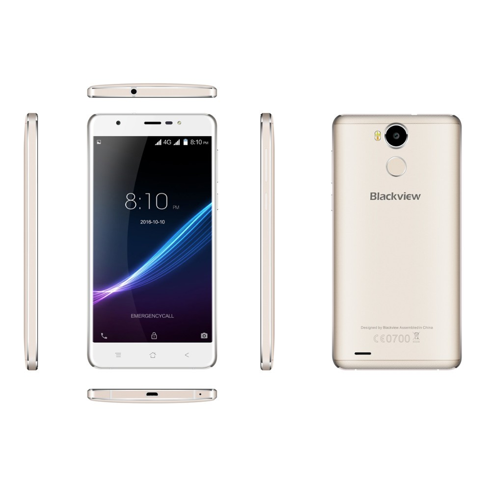 Original Blackview R6 4G LTE 1920*1080 5.5″ FHD Mobile Phone MTK6737 Quad-core Android 6.0 Smartphone RAM 3GB ROM 32GB Cellphone