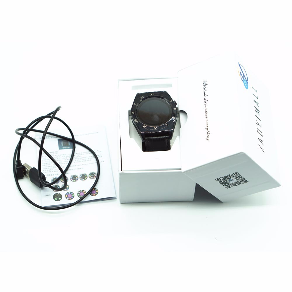 ZAOYIEXPORT Bluetooth V3.0 Smart Watch Z05 Wearable Devices Support Heart Rate Tracker for Android IPhone Xiaomi PK GT08/DZ09/U8