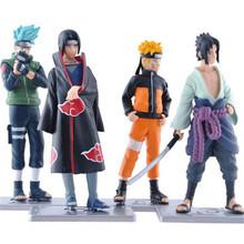 Naruto figuine Uzumaki kakashi set 11cm 2016 New sasuke figure toys Decoration Collection Gift figurarts - Magic Toy Paradise store