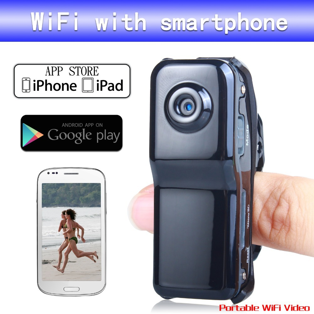 Original MD99S MD81S WiFi camera Mini DV Wireless IP Camera Hidden camcorder Video Record pocket-size Remote Phone mini camera(China (Mainland))