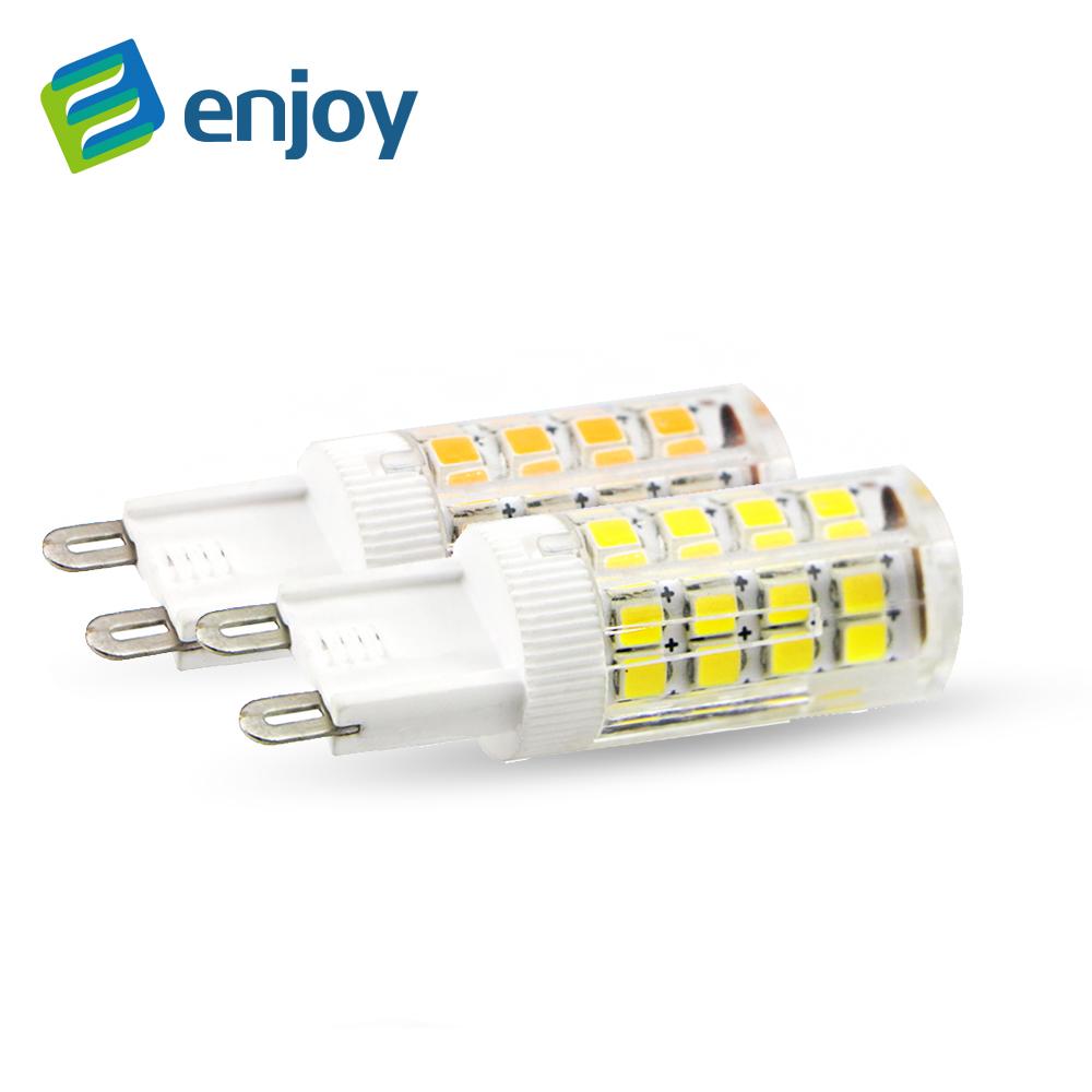 LED G9 Lamp Bulb High Quality Ceramic DC 220V 230V 240V 5W 9W 10W 2835 LED Light Bulb replace Halogen G4 for Chandelier(China (Mainland))