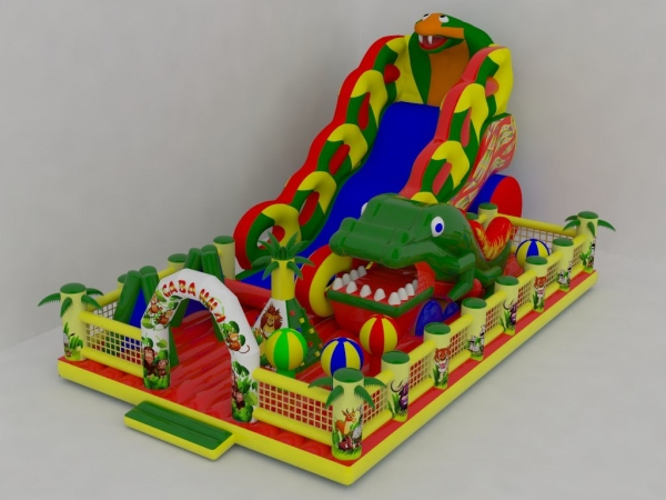 Factory direct inflatable bouncer, inflatable castles, inflatable slides The new slide THG-0236(China (Mainland))