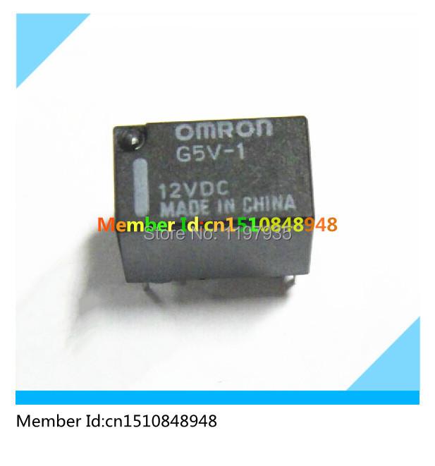G5V-1-12VDC Omron Relay  100%original G5V-1-12VDC  G5V-1  12VDC  1A  6 Pin