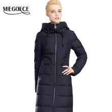 Winter Women Down Coat Jacket Warm Woman Down Parka Winter Coat High Quality European Style MIEGOFCE 2016 New Winter Collection(China (Mainland))