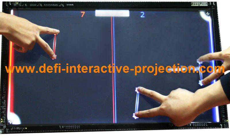 """12 points 42"""" Infrared Touch Screen frame, 16:9 format for multi touch table(China (Mainland))"""