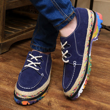 2014 New Arrival four season Canvas PU Shoes For Man Multicolor Casual Shoes For men comfortable