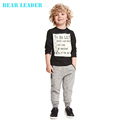 2014 new fashion boy and girl Katie wear short-sleeved summer clothing t shirt + pants suit