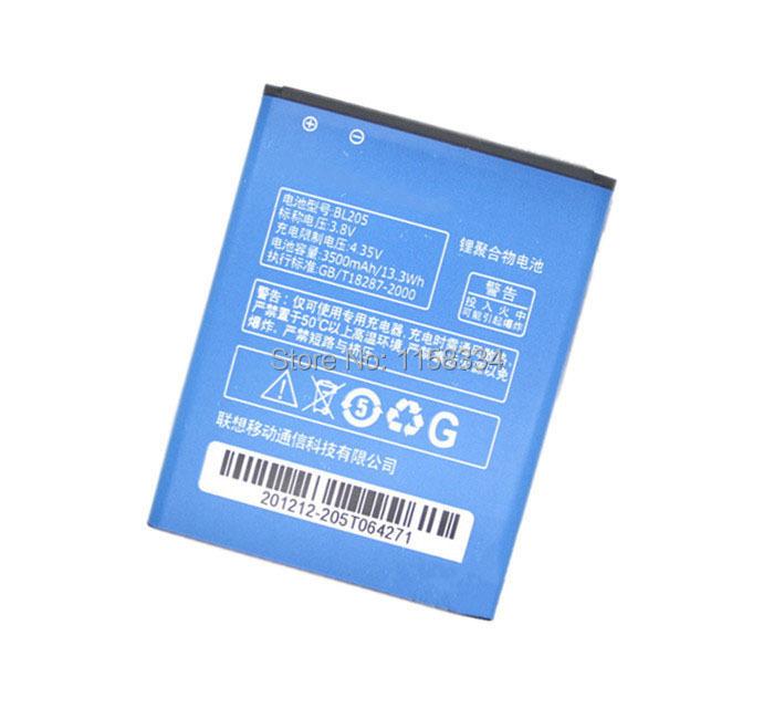 High quality Phone Battery For Lenovo BL205 3500mAh Battery Use Lenovo P770 P770i battery