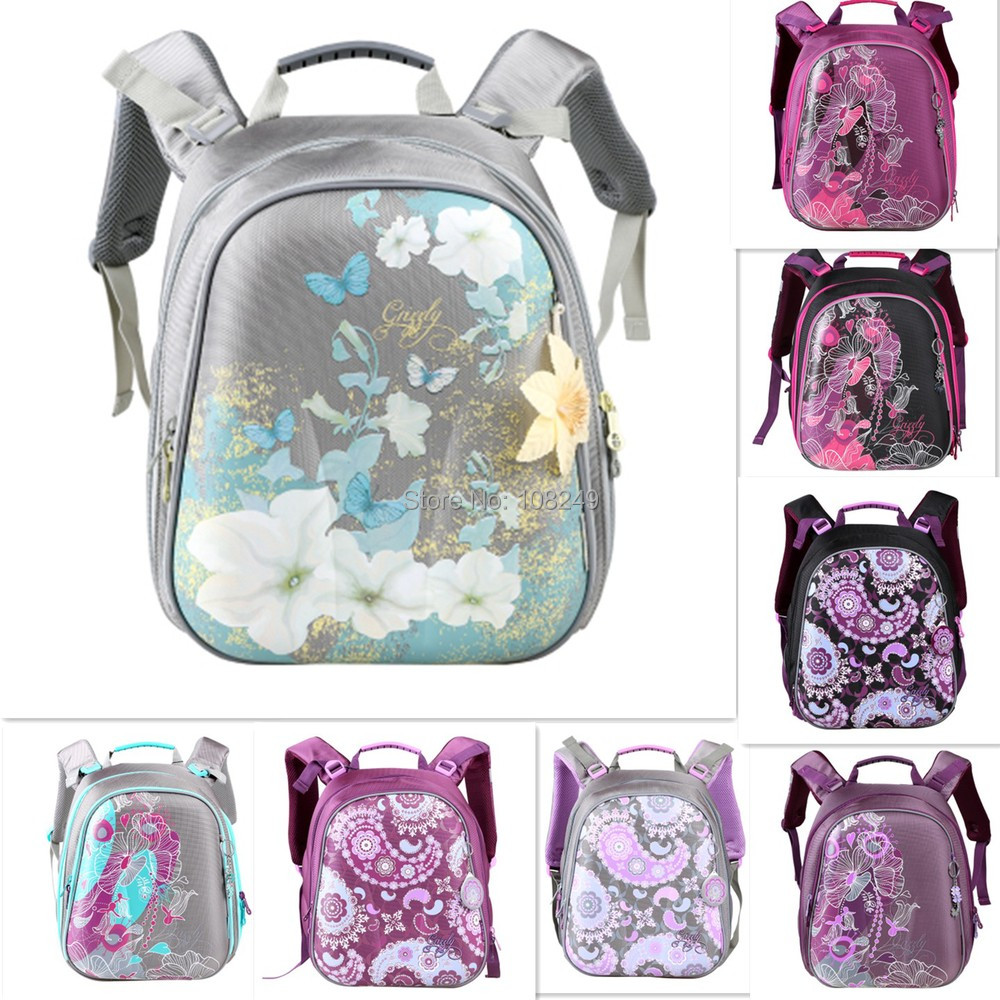 2015 New Fashion Kids Backpacks Girls PU Lightweight Waterproof Infantile Student Polyester School Bags Mochilas