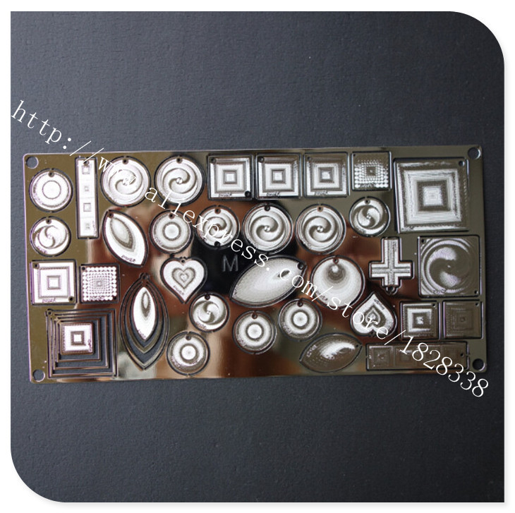 Wholesale high quality photo etched custom stainless steel jewelry tag(China (Mainland))