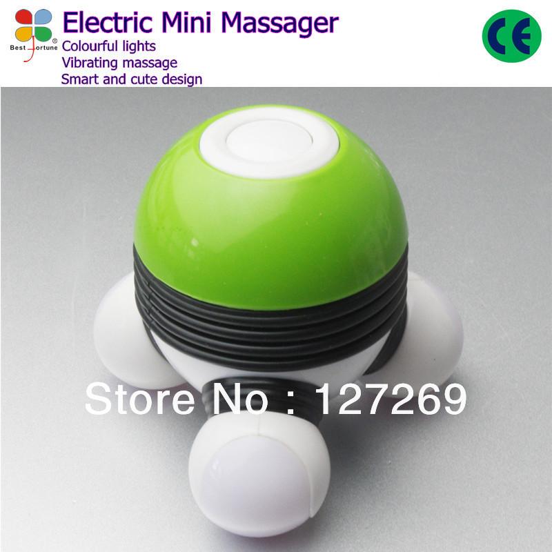 Mini USB Electric Massager Body Head Triangle Massager BK0061 Free Shipping LY-617B(China (Mainland))