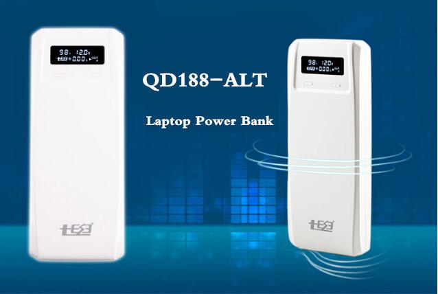 QD Laptop Power Bank 18650 Battery Box QiDian 1-8 Sections Removable battery (QD188-ALT)(China (Mainland))