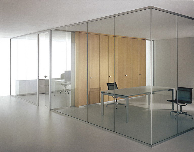 Glass partition accessories L L yards of iron metal strip accessories compartment wall partition aluminum manufacturers supply