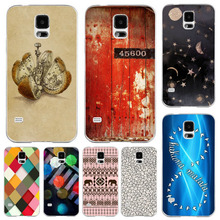Phone Case Cover For Samsung S5  Colored Vintage Color Drawing Paint Hard Plastic