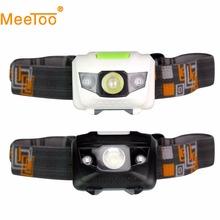New Headlamp 4 Modes LED Head Lamp Headlight Flashlight 3 * AAA Energy Saving Light for Outdoor Lighting Hiking(China (Mainland))