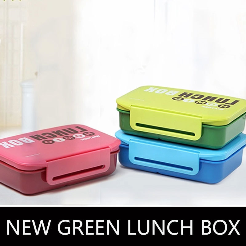 new 740-940ML Candy color microwave double sushi box lunch box bento box Free shipping to Russia!(China (Mainland))