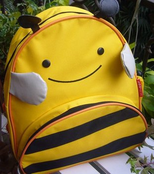 "NEW Wholesale  LOTS Schoolbag for Children Cuddy BEE~ Stylish Backpack 12"" size FREE SHIPPING"