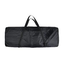 "73-Key 76-Key Keyboard Electric Piano Organ Bag Gig Bag Soft Case 46.4""  * 16.5""  Durable 600D Cloth PE Foam Padded Dual Zipper(China (Mainland))"