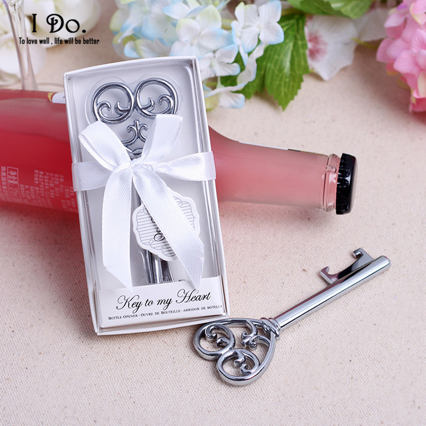 free shipping key bottle opener wedding favors and gifts wedding gifts for guests wedding. Black Bedroom Furniture Sets. Home Design Ideas