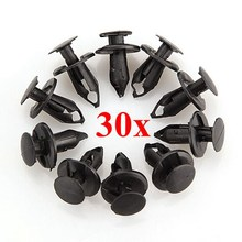 30x 8mm ATV Clips FOR Honda /Suzuki king Quad Vinson Z250 For Kawasaki KFX 400 700