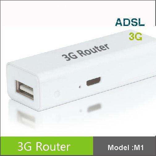 2013 New 4400mAh Original 3G Wireless Router + Mobile power supply ,MINI 3G WIFI Router(China (Mainland))