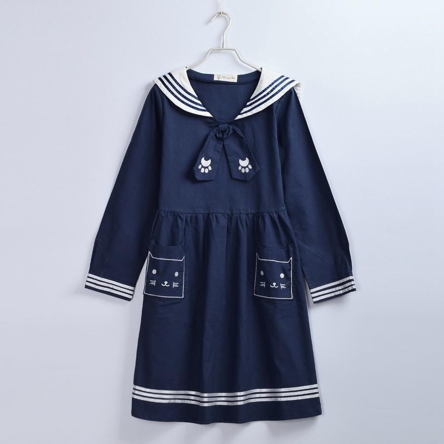Cute Sailor Dress (8)