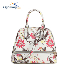 New 2015 Fashion Floral Shell Women Handbag PVC Printing Desigual Bags Handbags Women Famous Brand Vintage Shoulder Bags HB109F (China (Mainland))