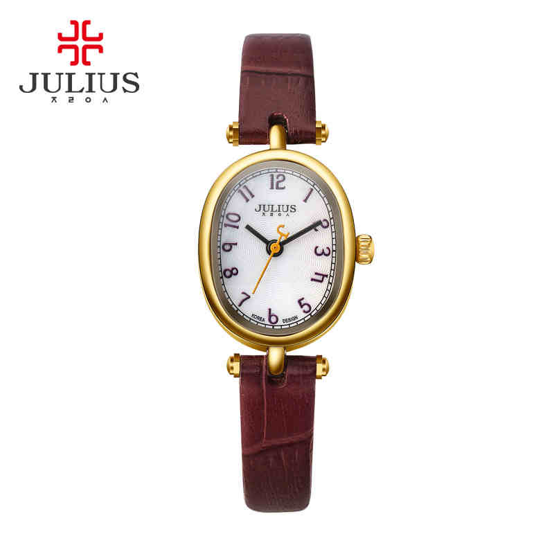 JULIUS2016 waterproof product elegant pebbles delicate female students table corrugated lines strap<br><br>Aliexpress