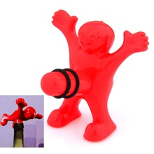 Happy Man Guy Wine Bottle Stopper