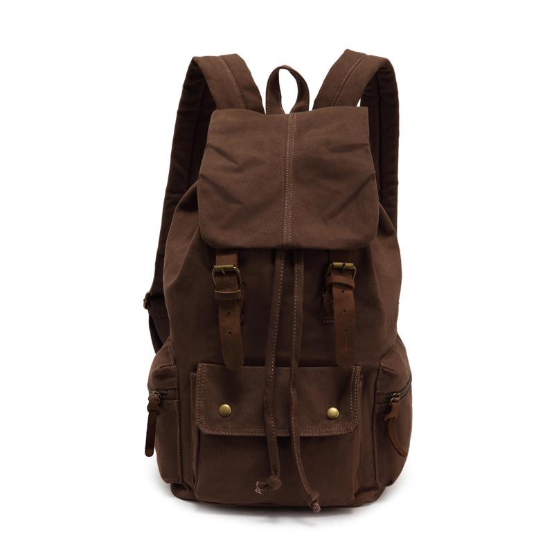 Men Backpack Large capacity travel bag outdoor school backpacks mens bags canvas bucket bag<br><br>Aliexpress