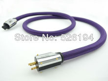 Buy Free DHL XLO Purple Rush HIFI US AC Audiophile Power cable 2M without box for $379.05 in AliExpress store
