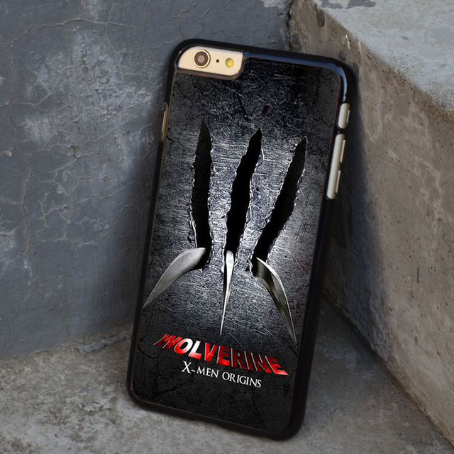 X Men Origins Wolverine Movie cell phone case cover for Iphone 4S 5 5S 5C 6 Plus for Samsung galaxy S3 S4 S5 S6 Note 2 3 4(China (Mainland))
