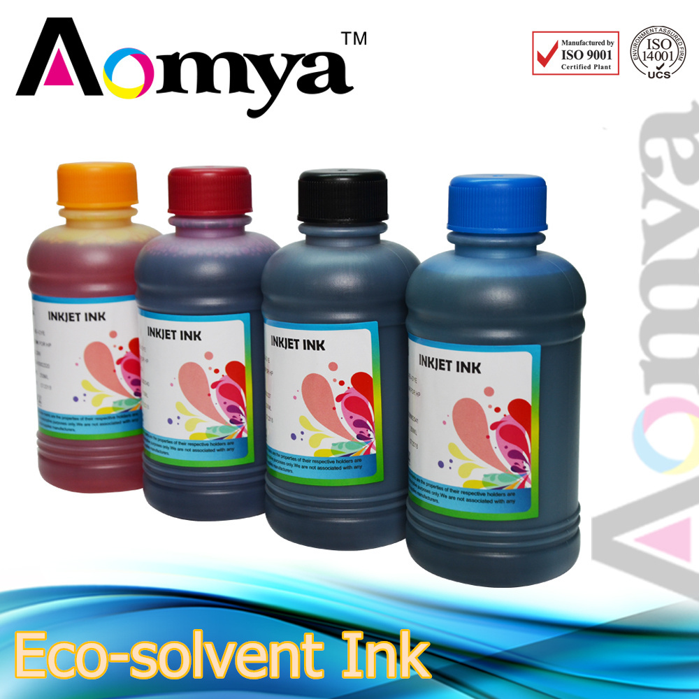 [250ml*6C] Dye Based Eco-solvent Ink For Epson 1400/1390/A1430 Printer for wood,paper,PVC,KT board,acrylic,leather,glass,metal<br><br>Aliexpress