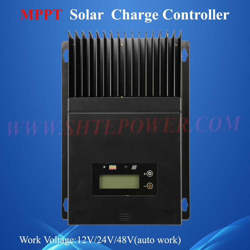 2016 New Coming 12v 24v 48 volt Solar System Auto Work Mppt Solar Charge Controller 60A(China (Mainland))