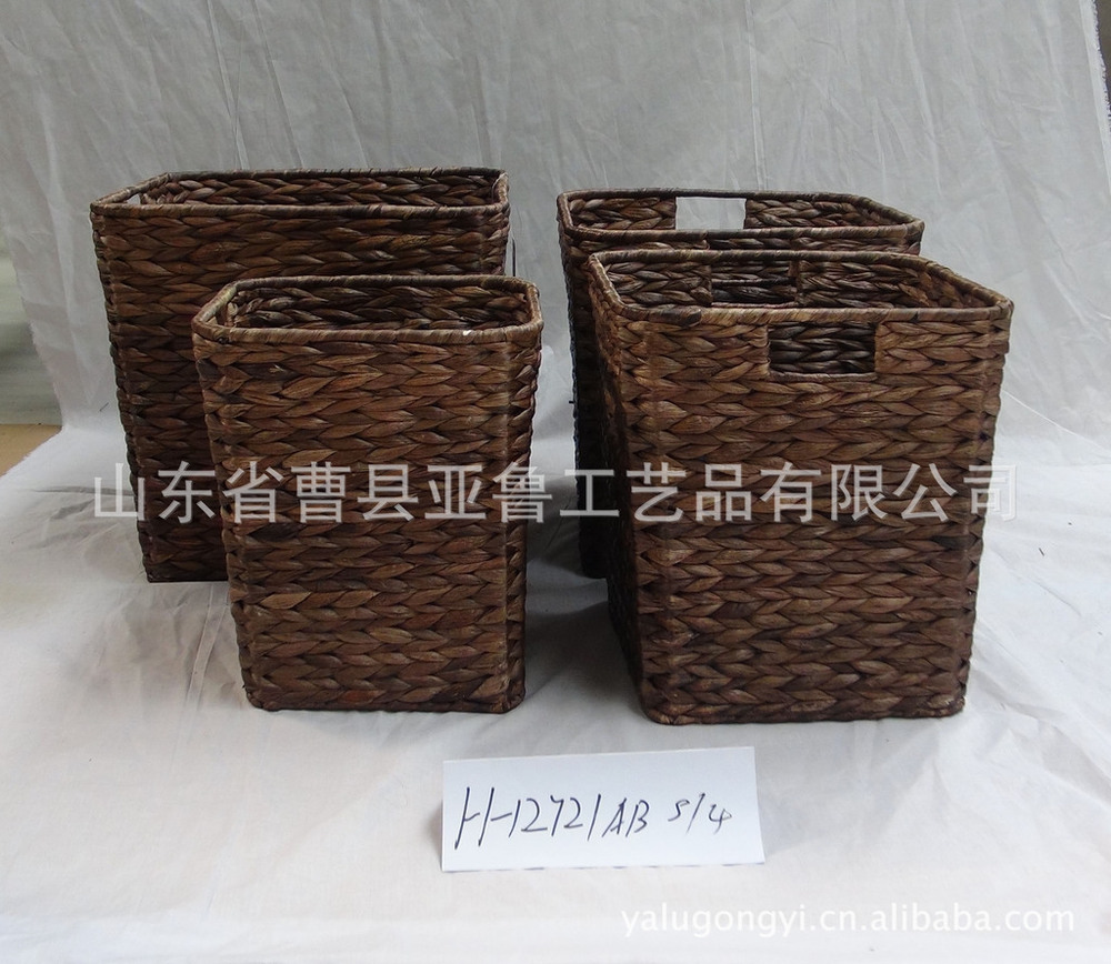 Producing all kinds of hand-woven baskets ( ingredients: corn bran rushes seaweed plants water hyacinth grass )(China (Mainland))
