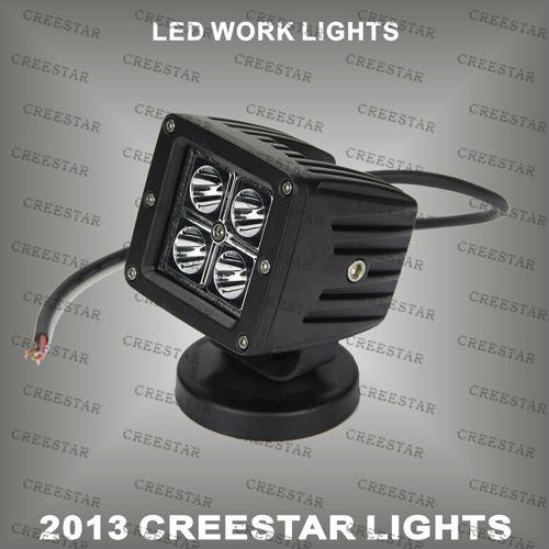 Discount sales 12W CREE Spot beam 10-30V LED WORK LIGHT&LED CAR LIGTH 950Lumen KR3122(China (Mainland))