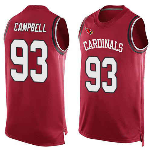 2016 New Fashion Cardinals Summer Must Haves Men's Calais Campbell David Johnson Red Player Name Arizona Sports Tank Top Jerseys(China (Mainland))
