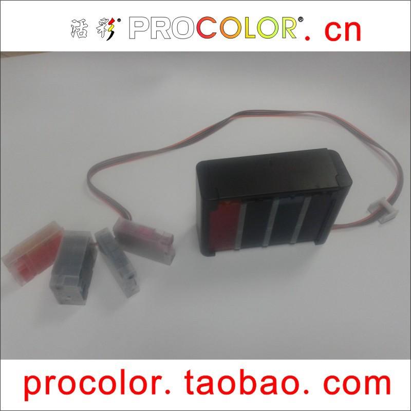 Фотография PROCOLOR newest 2015 hot PGI-2600 PGI-2600XL BK C M Y CISS for CANON MAXIFY iB4060 iB 4060 MB 5060 5360  MB5060 MB5360