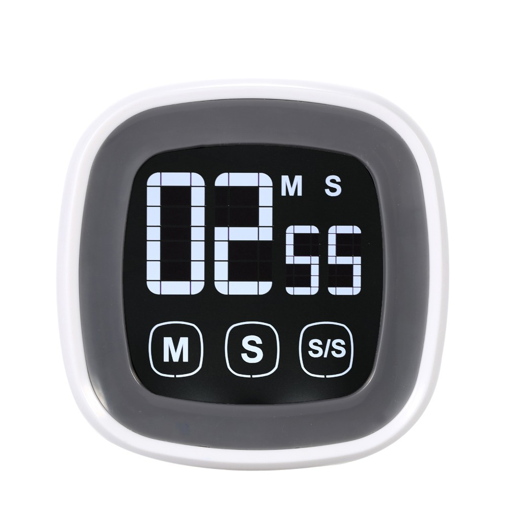 Electronic digital kitchen timer, touch screen kitchen timer, cooking reminder timer, free shipping(China (Mainland))