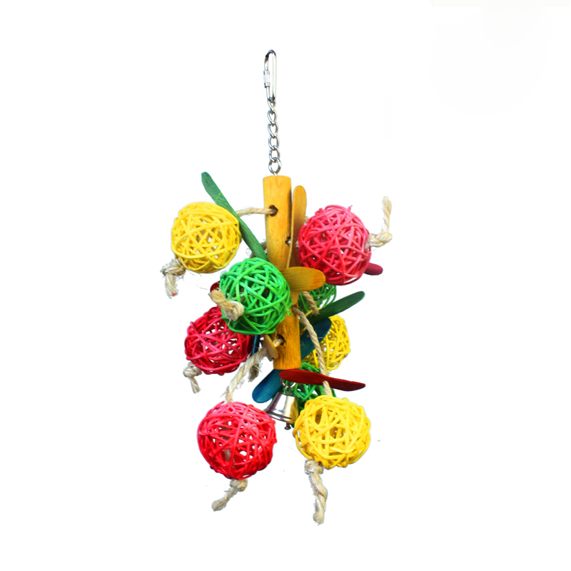 Colorful bird toy for small and medium parrots or other Bird pet toys(China (Mainland))