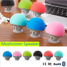 Mushroom Mini Wireless Portable Bluetooth 4.1 Speakers with Mic for iPhone Ipad Laptop Samsung HTC LG Sony Cell Phones (Blue)(China (Mainland))