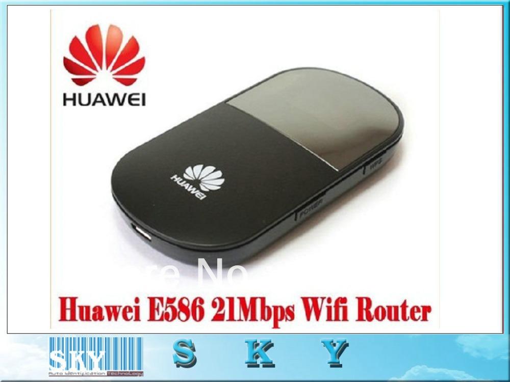 3PCS/LOT FOR Huawei E586 Original unlocked wireless Router 4G 21.6mbps HSDPA WIFI wholesale Free Shipping(China (Mainland))