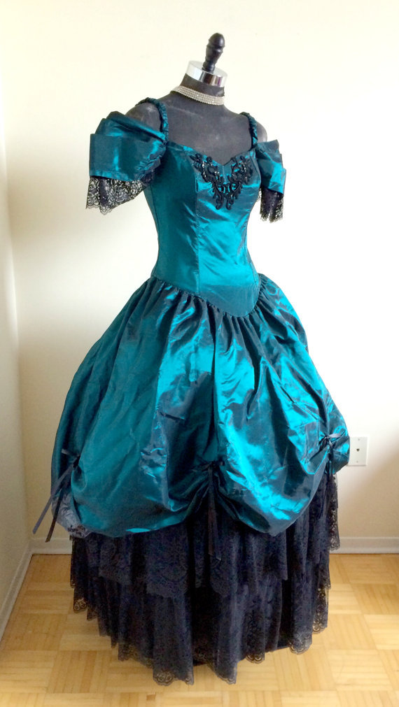 online buy wholesale green steampunk dress from china