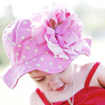 baby hat / INFANT big flower cap /children hat six style wholesale,CBRL promotion sell +EMS/DHL free shipping(China (Mainland))
