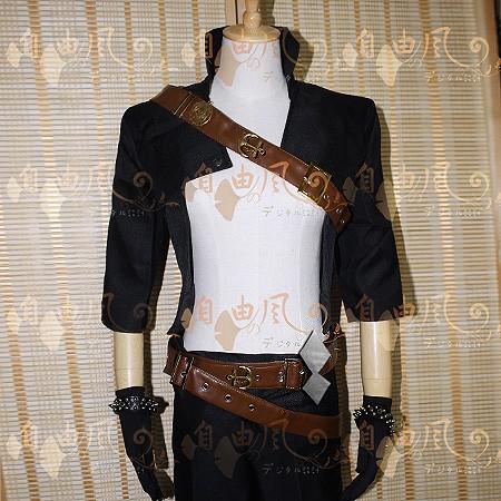 Katarina Male Version Cosplay Costume Halloween Uniform Outfit T-shirt+Coat+Pants+Belt+Gloves+Wristband Custom-made  HTB1ZHXEKVXXXXaKXVXXq6xXFXXXA