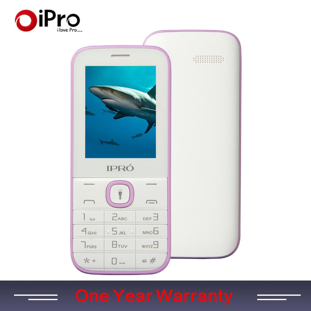IPRO Brand I324F 2.4Inch Dual Card Slot GSM Unlock Mobile Phone With English Portuguese Spanish Telephone Valentine Gift(China (Mainland))