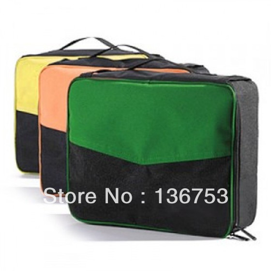 Travel Storage Bags Retractable Bags Prevent Crease Collapsible Box Foldable Bags Free shipping(China (Mainland))
