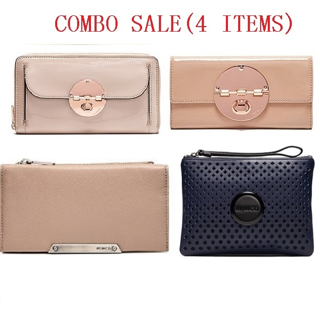 combo sale 4iems LOW TO 129USD FOUDATION TRAVEL WALLET TURNLOCK AMBER BOW  MEDIUM POUCH <br><br>Aliexpress